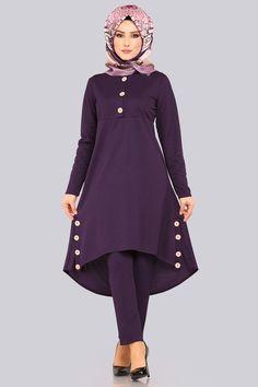 Modest Fashion Hijab, Street Hijab Fashion, Abaya Fashion, Muslim Fashion, Fashion Dresses, Girls Top Design, Designs For Dresses, Sweet Dress, The Dress