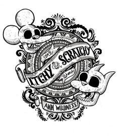 Itchy Scratchy X Iain Mcarthur