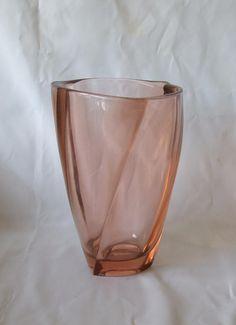 £65 Sklo Union Art Glass Vase from Frantisek Peceny 1950s