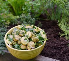 Recipe: Herb Garden Potatoes with Fresh Spinach & Lemon — Recipes from The Kitchn | The Kitchn