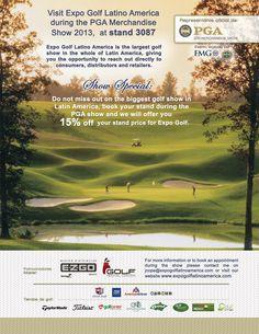 Nos vemos en la #PGAshow 2013 ¡Expo golf va a Orlando!