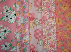 Reproduction 1930s Fabric