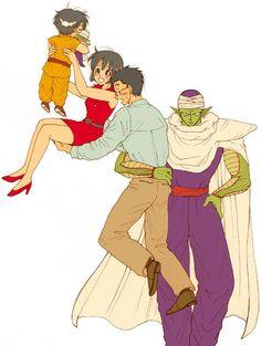 Piccolo ~ Gohan ~ Videl ~ Pan