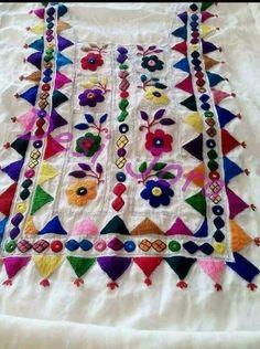 Hand Embroidery Hand Made Dress Indian Design By Villagehandycraft