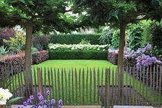 Garden Paving, Garden Paths, Garden Bridge, Garden Landscaping, Hampshire, Garden Deco, Hedges, Garden Inspiration, Planting Flowers