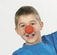 HALLOWEEN ~ 12 Circus Carnival Clown Noses Kids Birthday Party Favors Toys Games