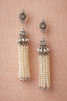 Earrings from BHLDN.