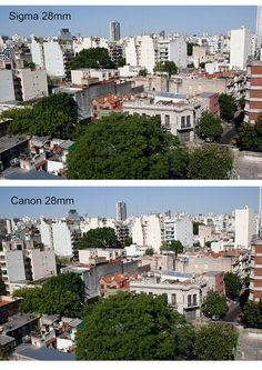 sigma vs canon 28mm by henrybugalho, via Flickr