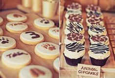 63 Trendy birthday cupcakes ideas for adults cup cakes Cupcakes Safari, Animal Print Cupcakes, Birthday Party Celebration, 2nd Birthday Parties, Birthday Ideas, Happy Birthday, Cool Birthday Cakes, Birthday Cupcakes, Birthday Nails
