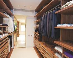 Home Decor Contemporary Closet.