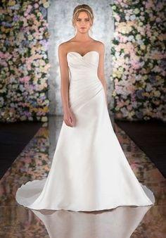 dupioni wedding dress - Google Search