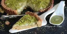 Crostata+con+crema+e+frolla+al+pistacchio