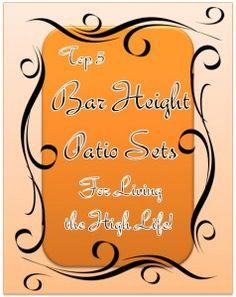 28 Best Bar Height Patio Set Images Bar Height Patio Set