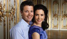 Fryderyk i Mary - książę koronny i księżna koronna Danii