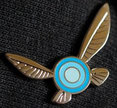 Legend of Zelda Navi Hat Pin 1 Double Posted Silver metal, Hard Enamel xx/50 Limited Edition backstamp numbering