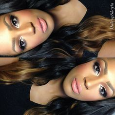 "Lashes are ""femme fatale""  For full details follow @makeupshayla on Instagram http://instagram.com/p/ZY3zFmr_6_/"