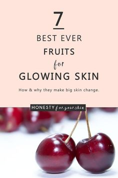 Sagging Skin Remedies Come take a best fruits for glowing skin chat with me. Your going to learn the principles of what makes some fruits great for skin and your going to forever more have a go-to list of 7 best ever fruits for glowing skin. Skin Tips, Skin Care Tips, Beauty Tips For Skin, Beauty Tricks, Organic Skin Care, Natural Skin Care, Natural Beauty, Raw Beauty, French Beauty