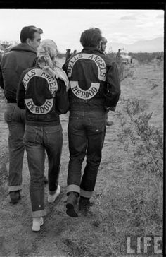 Hells Angels...initially a girl or two or few were patched but the CLUB decided a woman could not defend the patch/colors so girls are not patched in.