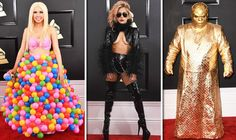Grammys 2017: WORST dressed are CeeLo Green Lady Gaga Katy Perry and Girl Crush