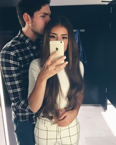 Love, couple, and selfie image. Cute Couple Selfies, Cute Couples Photos, Cute Couple Pictures, Couple Photos, Couple Picture Poses, Couple Posing, Couple Goals, Tumblr Couples, Selfie Poses