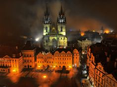 Niebla en Praga. Beyondhue