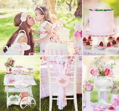 Dainty Mommy and Me Tea Party Ideas... Well if this doesn't happen for a birthday it will happen this summer!