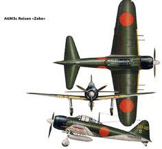 """A6M5c Reisen """"Zeke"""""""