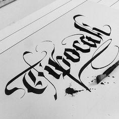 INSTAGRAM Letters 01 by Thiago Reginato, via Behance