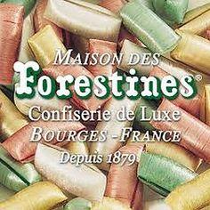 """1878  Bourges, la """"Forestine®"""" Premier bonbon croquant et moëlleux, à l'origine de tous les bonbons de sucre fourré. Bourges France, Pickles, Cucumber, Food, Goodies, Sugar, Essen, Pickle, Yemek"""