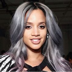 Celebrities Who Are Totally Owning the Grey-Hair Color Trend! Rihanna , Winnie Harlow , Ciara, Kylie Jenner , Dascha Polanco, Zayn , Nicole Richie , Kelly Osbourne, Ryan Stevenson and Amandla Stenberg.  #inandaround #fashion #trending #color