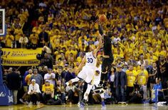 Kyrie Irving with the shot he as always dreamed about. The big 3 over the MVP to out his team up by three in the final minute of Game 7. Great way to come back after a terrible knee injury