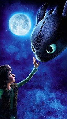 How to Train Your Dragon | 14inch x 25inch | Silk Printing Affiche de Soie Poster 027: Amazon.fr: Cuisine & Maison