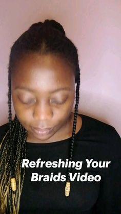 Hair Gel, Hair Brush, Natural Hair Tips, Natural Hair Styles, Locs, Spray Bottle, Hair Hacks, Braids, Celebrities