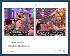 Funny pictures about Despicable me too. Oh, and cool pics about Despicable me too. Also, Despicable me too. Disney Pixar, Disney Lol, Disney Memes, Disney Films, Funny Quotes, Funny Memes, All Meme, Meme Meme, Dreamworks
