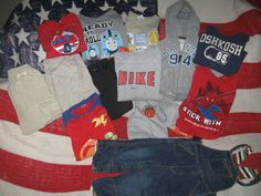 Huge Boys Lot~Polo,Gap,Nike, and more w/gin