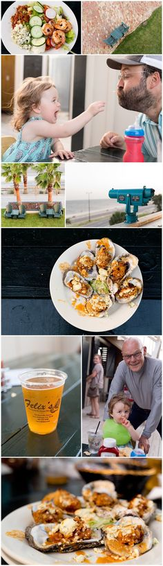 Felix's Oyster Restaurant in Gulfport, Mississippi - with James Carville
