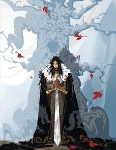 Lord Eddard Stark - Warden of The North