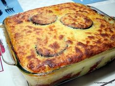 Mousaka from thehungrystudentcooks. Taken from BHG recipe. Must try this one.