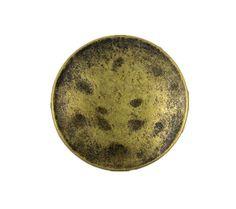 Antique Brass Metal Shank Buttons - 23mm - 7/8 inch