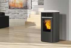 Edilkamin - Fireplaces, wood and pellet burning stoves, fireplace heating systems, thermo-stoves, pellets Heating Systems, Home Appliances, Wood, Gallerie, Image, Products, Drive Way, Panelling, Steel