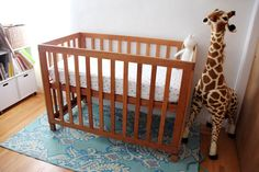 """The second thing my husband said to me after I told him I was pregnant—the  first being, """"Yeah I knew it.""""—was that he wanted to make the crib.  """"Ok,"""" I said, as long as it was up to safety standards. He scoured the  internet for blue prints and designs, eventually finding a"""