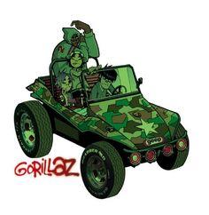 Gorillaz - Gorillaz [2001] #rap #alternative