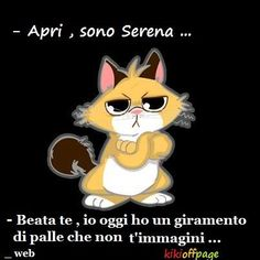 "ah ah ah – ""Persbaglio"" Funny Quotes, Funny Memes, Hilarious, Italian Memes, British Humor, Humor Mexicano, Cat Sitting, Grumpy Cat, Cat Cat"