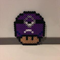 Mushroom evil minion  perler beads by plurbunnyperlers