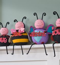 Craft Painting - The Love Bug Gang