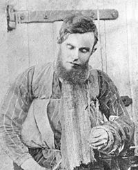 Joseph Byrne also known as Joe Byrne (November - June 28 was an Australian bushranger. He is known as the lieutenant of the Kelly Gang. He was shot dead in the siege of Glenrowan. Old Pictures, Old Photos, Shakespeare Midsummer Night's Dream, Ned Kelly, Post Mortem Photography, Australian Bush, Young Old, Old West, History Facts