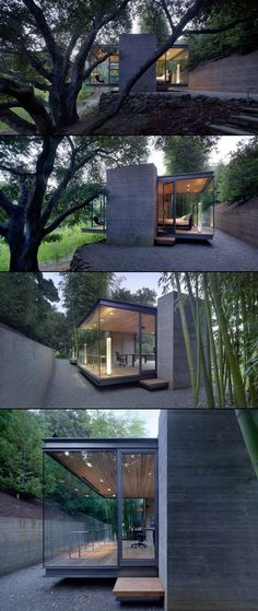 cool project... || Tea House by Swatt | Miers Architects #modern #architecture: