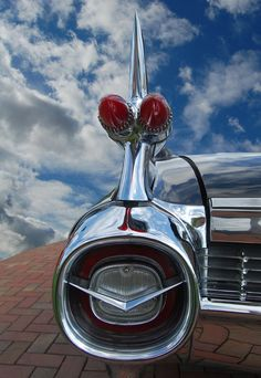 1959 Cadillac. Looks like it should fly as well as drive.. QuirkyRides.com.