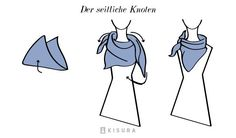 Schals und Tücher binden | Kisura GmbH