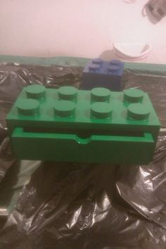 Lego boxes - I might have to build a few of these for my kids next Christmas. I would add the bottoms so they could be stackable!